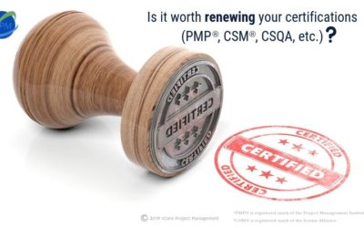 Is it worth renewing your certifications (PMP, CSM, CSQA, etc.)?
