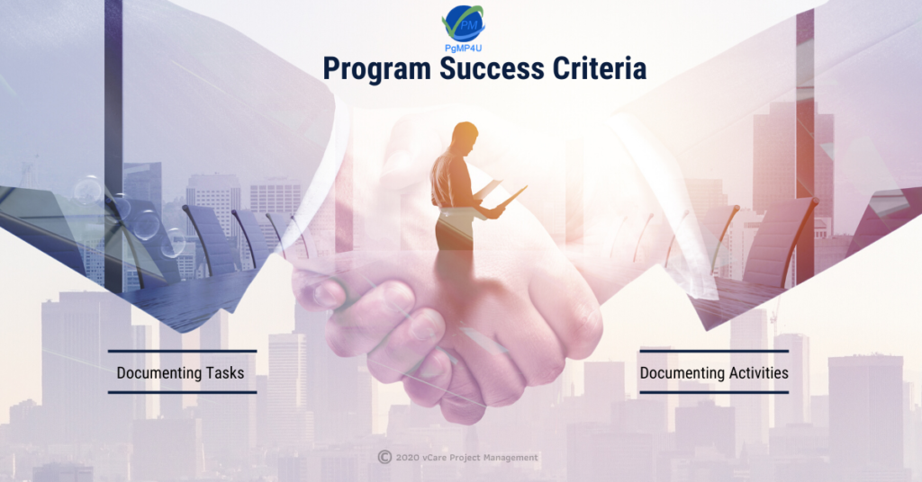 Program Success Criteria | PgMP | PfMP | PMP | USA | Australia | vCare